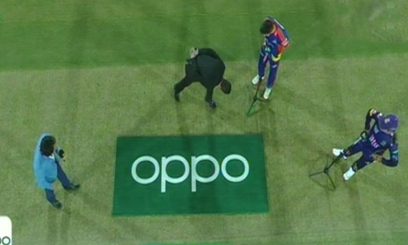 Karachi Kings won the toss and opted to field first. — DawnNewsTV