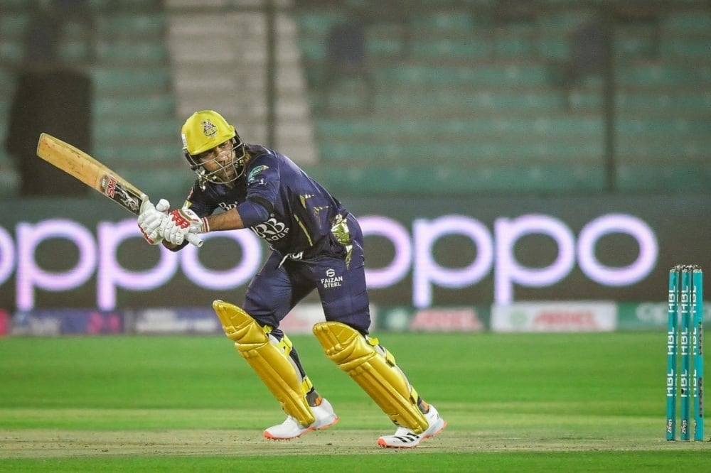 Quetta Gladiators in action. — Photo courtesy PSL Twitter