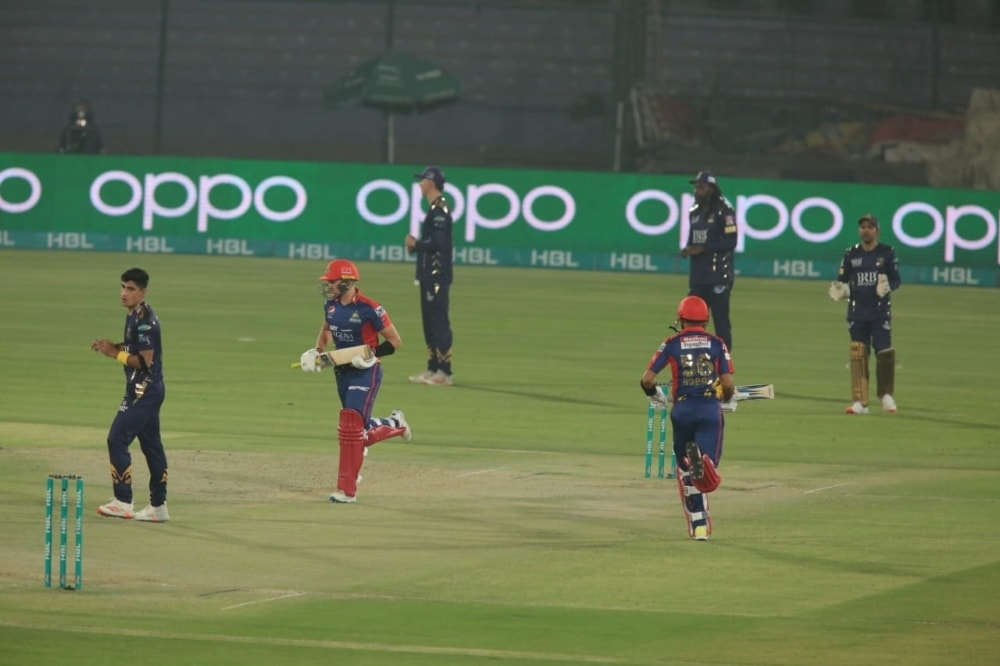 Karachi Kings in action. — Photo courtesy KK Twitter