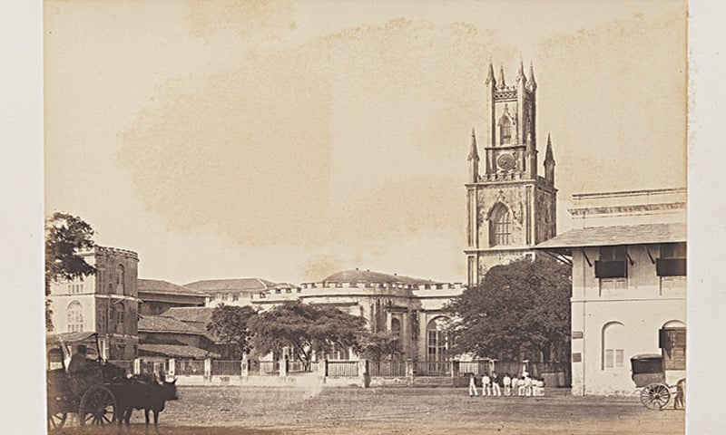 Johnson, William; Henderson, William, The Cathedral, Bombay, 1855-1862 | Photo: SMU Central University Libraries/Public Domain