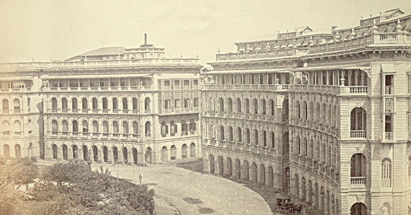 Elphinstone Circle in Bombay in the 1870s | Photo: Lee-Warner Collection/Wikimedia Commons