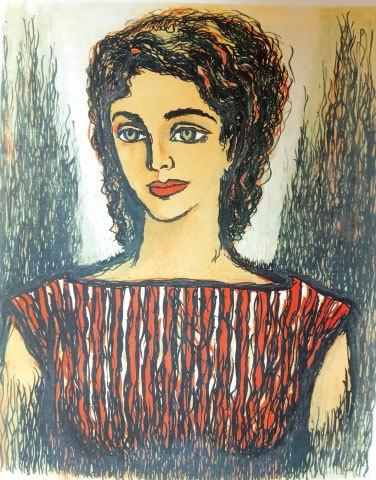 Meursault's lover, the innocent Marie