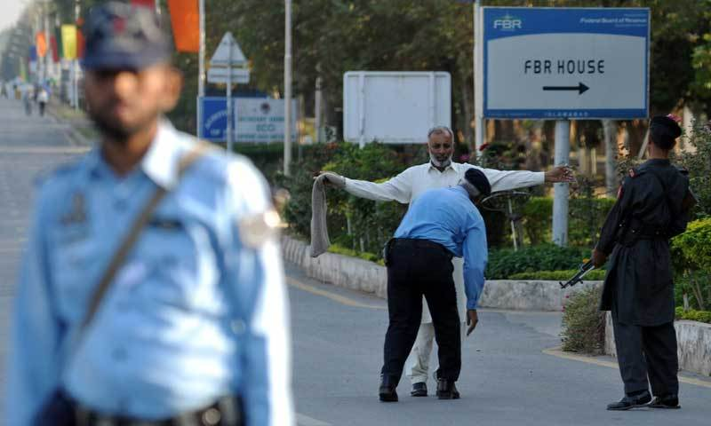 Six Islamabad police stations' SHOs were removed from their posts for poor performance, a police spokesman said. — File photo