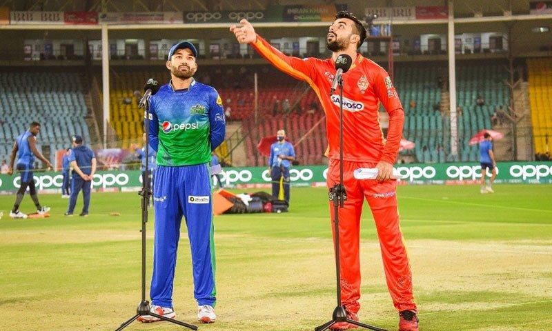 Islamabad United opted to field first against the Sultans. — Photo: Twitter