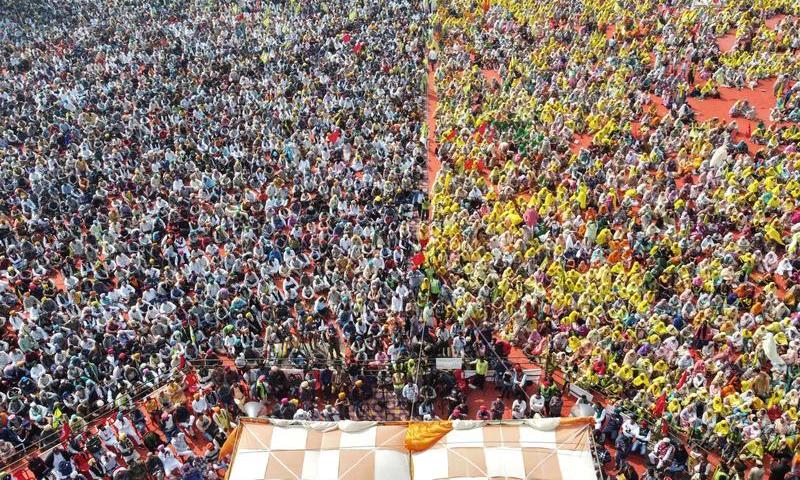بھارت: کسانوں کا 23 فروری سے احتجاج میں مزید شدت لانے کا اعلان