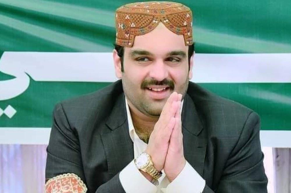 پی پی پی کے امیر علی شاہ جیلانی —تصویر بشکریہ رپورٹر
