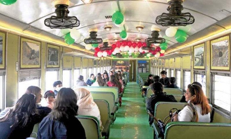 گولڑہ اور اٹک کے درمیان سفر کیلئے خصوصی سیاحتی ٹرین متعارف