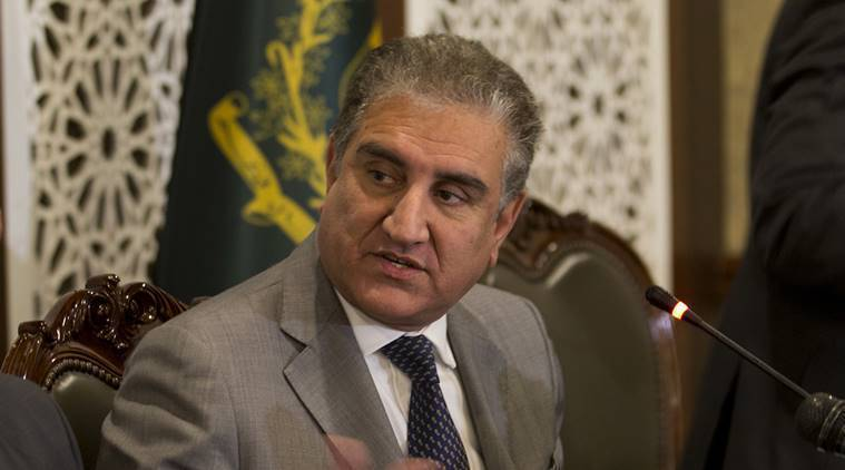 Foreign Minister Shah Mahmood Qureshi on Monday once again called on the international community to be wary of India's sinister design to malign Pakistan. — AP /File