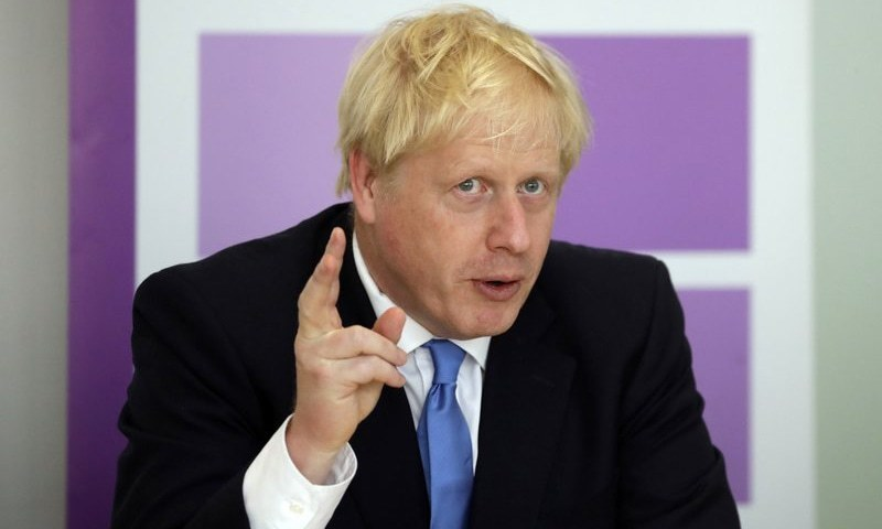 British Prime Minister Boris Johnson unveiled a map out of lockdown for England on Monday that would keep some businesses shuttered until the summer. — AP/File