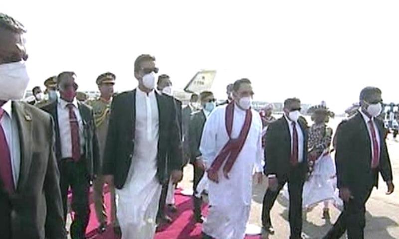 عمران خان نے اپنے سری لنکن ہم منصب سے بھی ملاقات کی— تصویر: ڈان نیوز