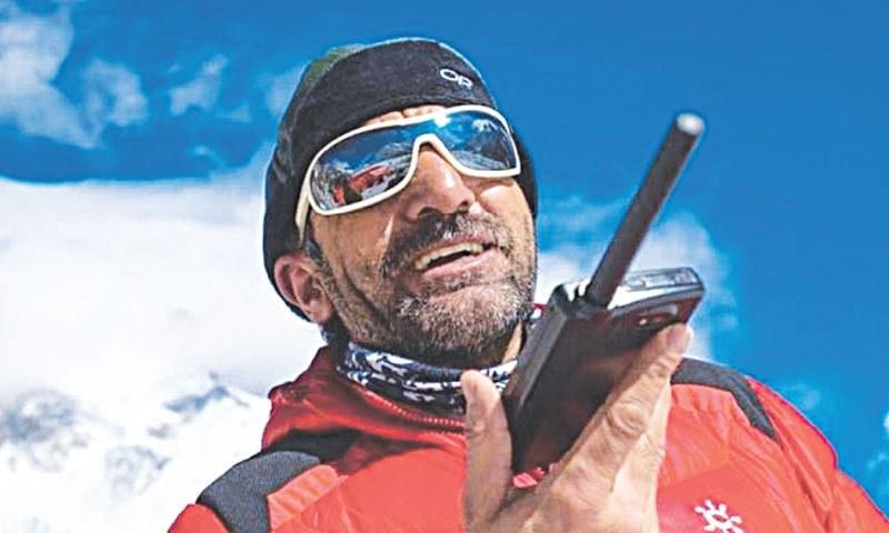 Muhammad Ali Sadpara is the only Pakistani to have climbed eight of the 14 8,000 metre peaks. — Photo: Elia Saikaly/File