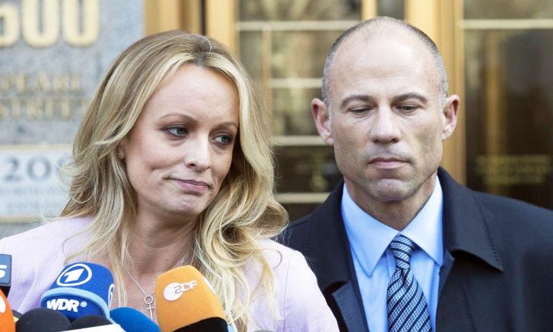 سابق صدر کے خلاف سابق پورن اسٹار کا مقدمہ 22 فروری کو ختم کردیا گیا—فائل فوٹو: اے پی