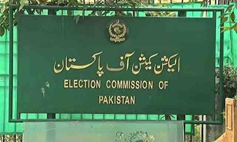 چیف الیکشن کمشنر سکندر سلطان راجا کی سربراہی میں 5 رکنی کمیشن نے کیس کی سماعت کی۔