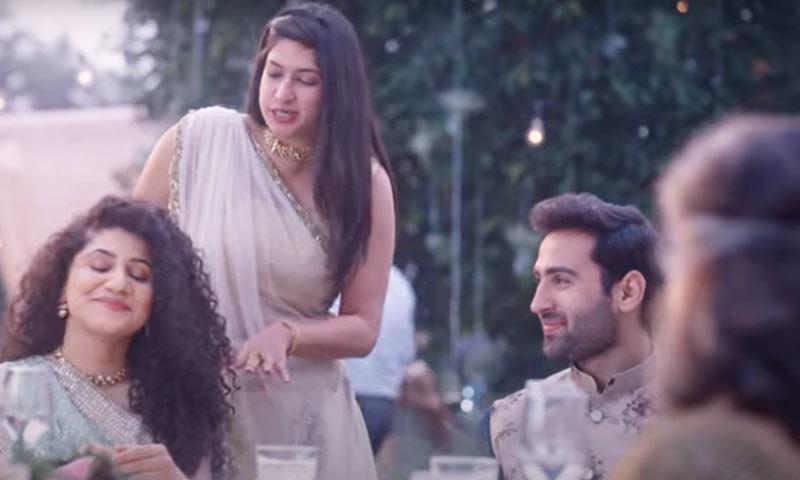 اشتہار کو بھارت بھر میں سراہا جا رہا ہے—اسکرین شاٹ