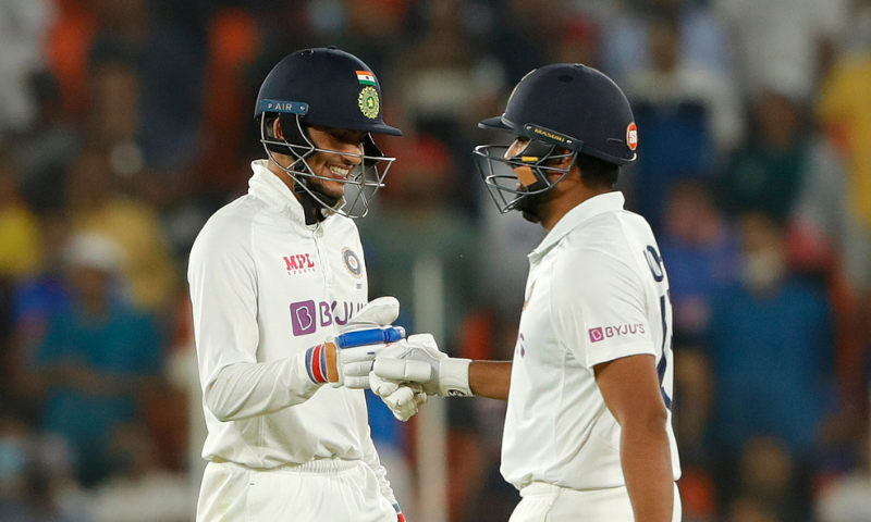 India on Thursday completed an emphatic 10 wicket win over England in their day-night Test in a rare victory inside two days. — Photo courtesy ICC Twitter