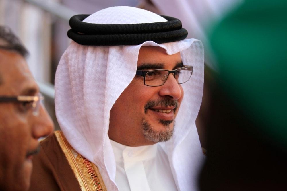 In this file photo, Bahrain Crown Prince Salman bin Hamad bin Isa Al Khalifa attends an event in Manama, Bahrain. — AP