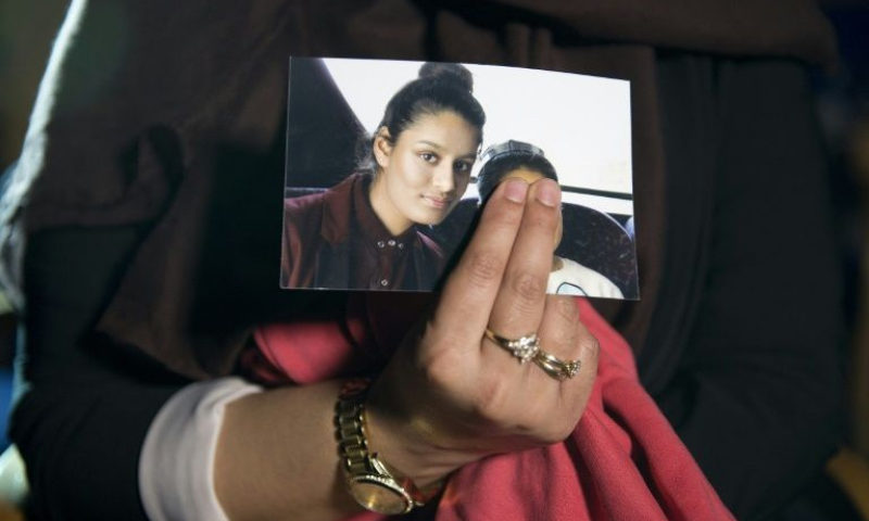 Now 21, Begum left her home in east London at the age of 15 to travel to Syria with two school friends and married an IS fighter. — AFP/File