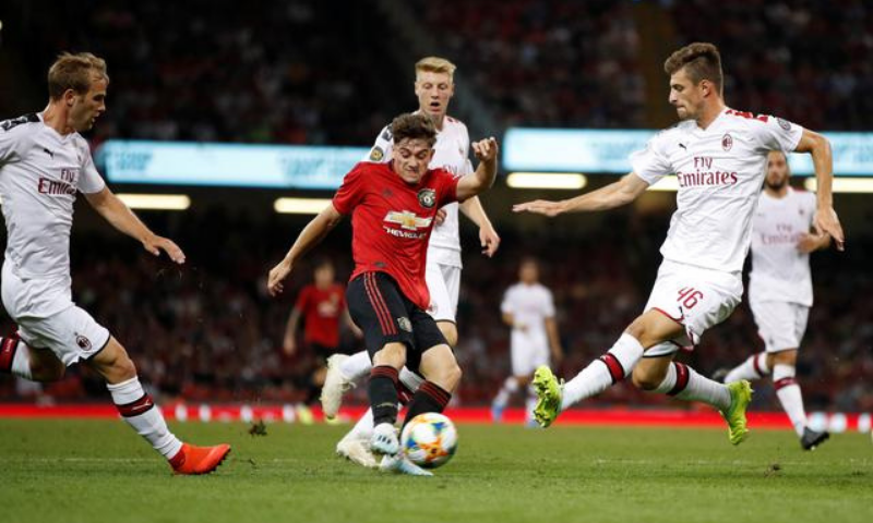 Manchester United's Daniel James in action. — Reuters/File