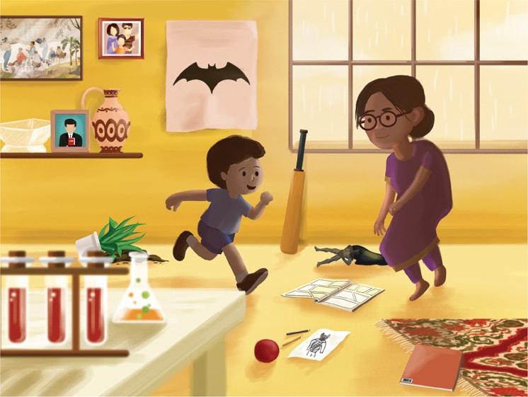 Illustrations by Samiah Bilal