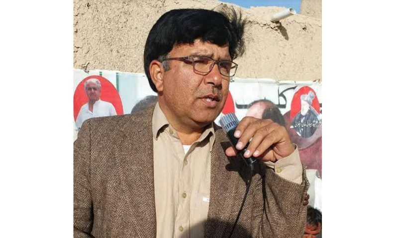 Asad Khan Achakzai. — Photo courtesy Twitter