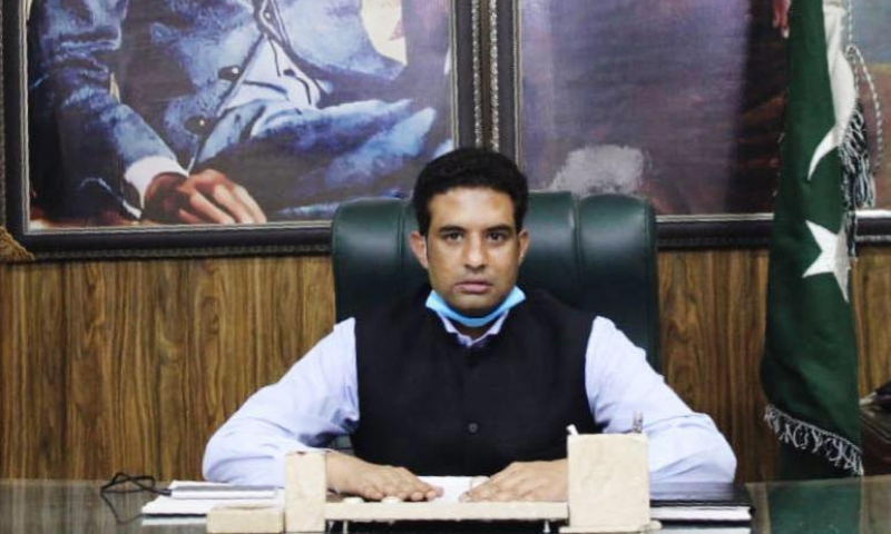 The Punjab government has suspended Daska Assistant Commissioner Asif Hussain Mehdi (pictured) and two deputy superintendents of police (DSPs) from service following the Election Commission of Pakistan (ECP) orders. — Photo courtesy Asif Hussain Mehdi Facebook
