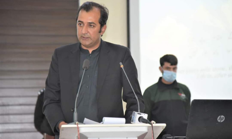 Gilgit-Baltistan Chief Minister Khalid Khurshid Khan has said that a development package is being finalised to boost the construction industry and help improve the living standards of the locals in the region. — Photo courtesy Facebook