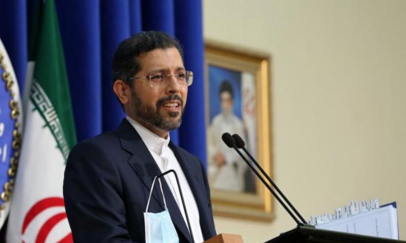 Foreign ministry spokesman Saeed Khatibzadeh. — Anadolu Agency/File