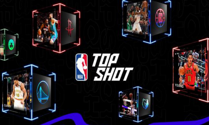 Images created for the launch of NBA Top Shot, an online platform which allows users to buy and trade videos of basketball highlights. — Reuters