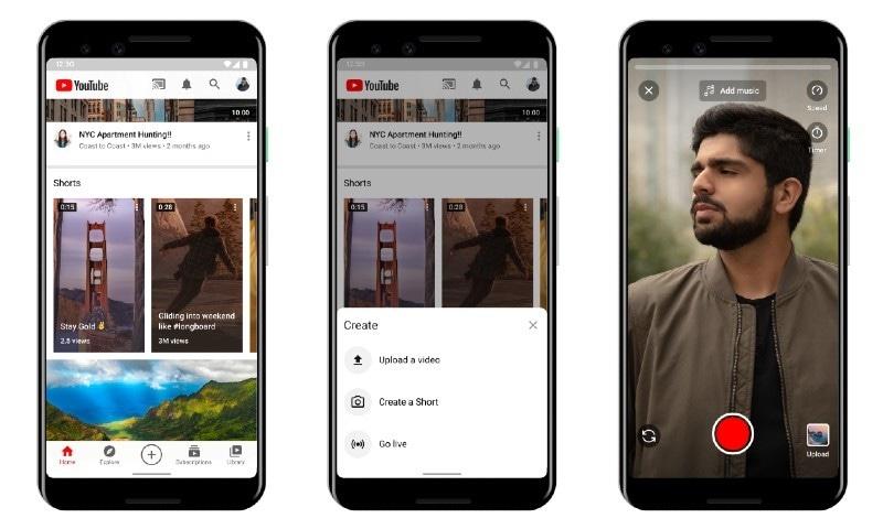 ٹک ٹاک کے مقابلے میں یوٹیوب شارٹس دنیا بھر میں متعارف ہونے کیلئے تیار