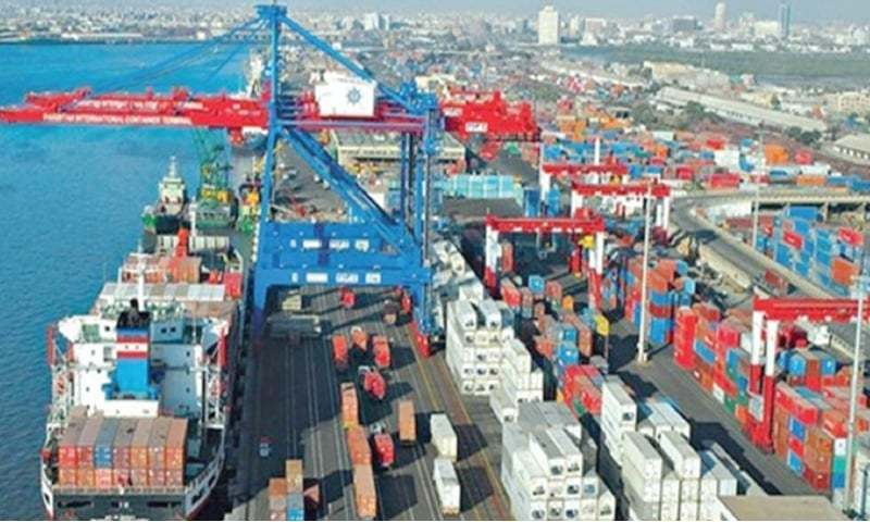 Pakistan's exports fell by over four per cent in February from a year ago after recording growth in the past four months. — File photo