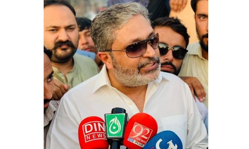 Ikhtiar Wali made headlines by defeating Omar Kakakhel of the ruling PTI in the PK-63 by-election by a margin of over 4,000 votes.  — Photo courtesy Ikhtiar Wali Facebook