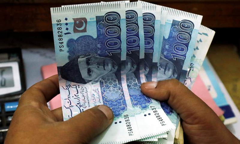 Private sector borrowing through banks went up by 80 per cent in the first eight months of the current fiscal year, reflecting accelerated economic activities in the country. — Reuters/File