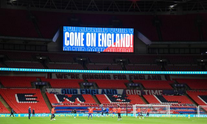 A general view of the Wembley Stadium in London. — Reuters/File