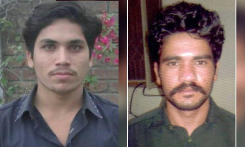 ملزمان عابد ملہی اور شفقت بگا نے صحت جرم سے انکار کردیا—فائل فوٹو: ڈان نیوز/پنجاب پولیس