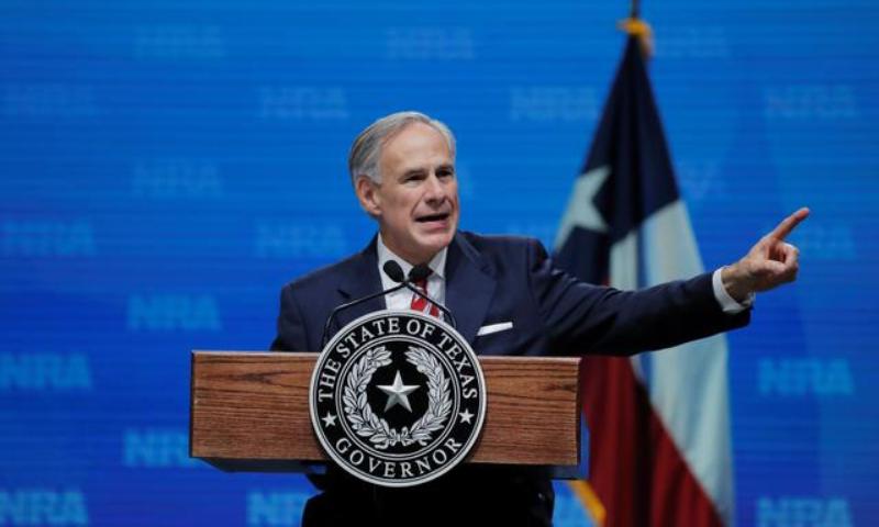 Governor Greg Abbott of Texas — Reuters