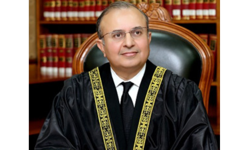 Justice Syed Mansoor Ali Shah on Wednesday observed that science and technology should be welcomed as they hugely help improve and bring more transparency to the system of justice. — Photo courtesy SC website