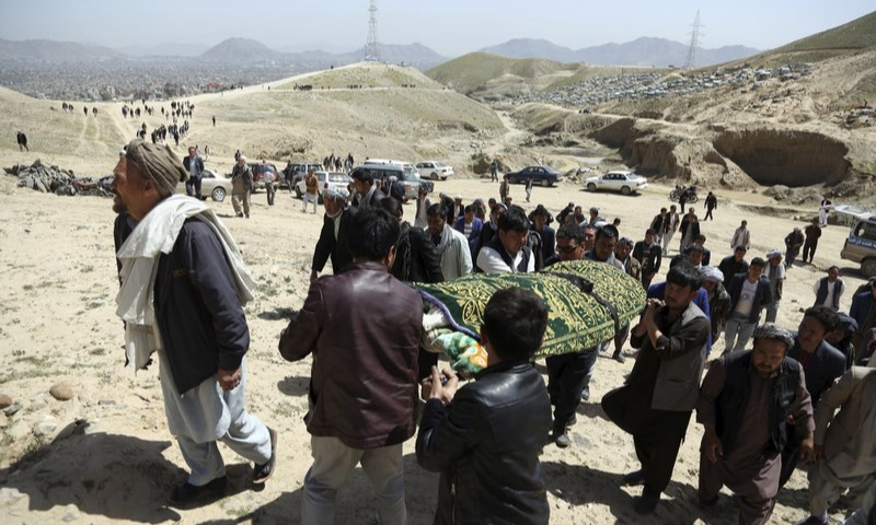 At least seven members of Afghanistan's persecuted Hazara ethnic group were brutally murdered in the country's restive east. — AP/File