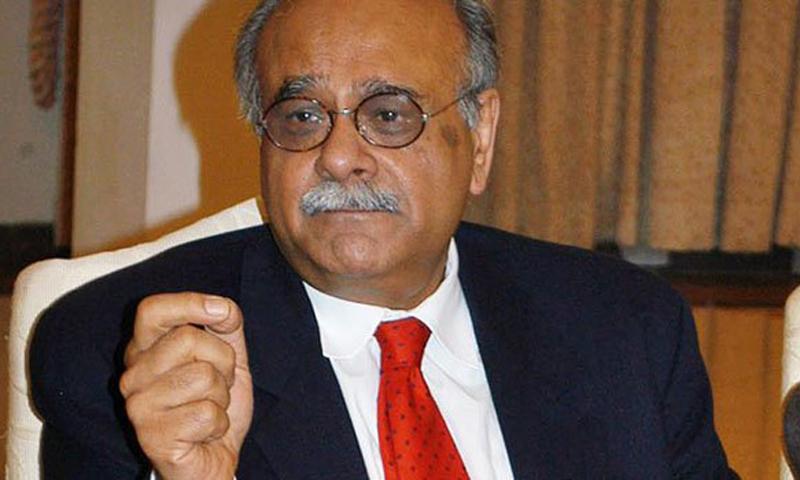 نجم سیٹھی نے پی سی بی کے اقدامات پر تنقید کی — فائل/فوٹو: ڈان