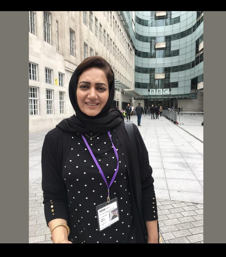 Asma Shirazi.