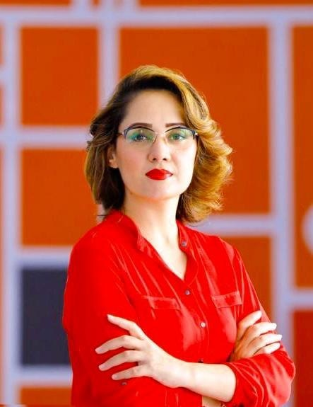 Gharidah Farooqi.