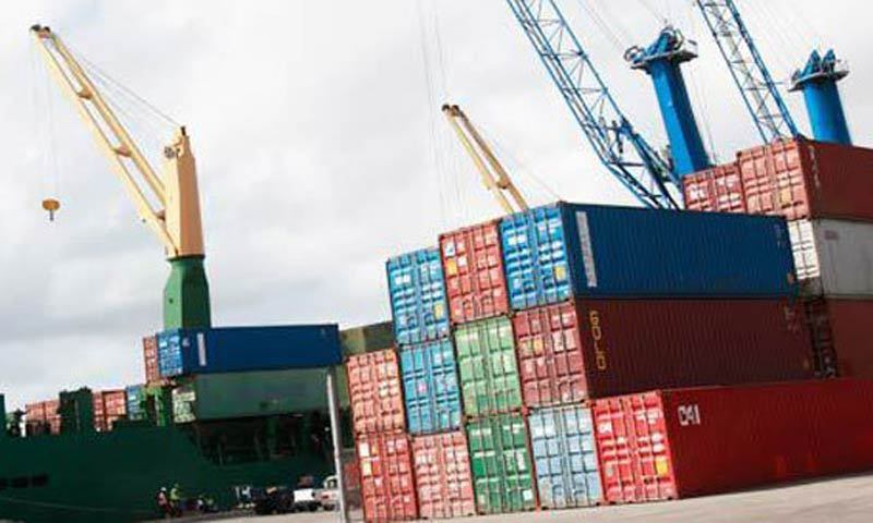 A brisk cargo handling activity was witnessed at the Karachi Port Trust (KPT) during the outgoing week (March 1-5). — File photo