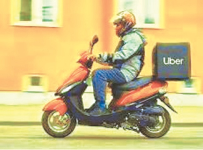 HOME delivery business is booming at a time when other businesses are going bust.