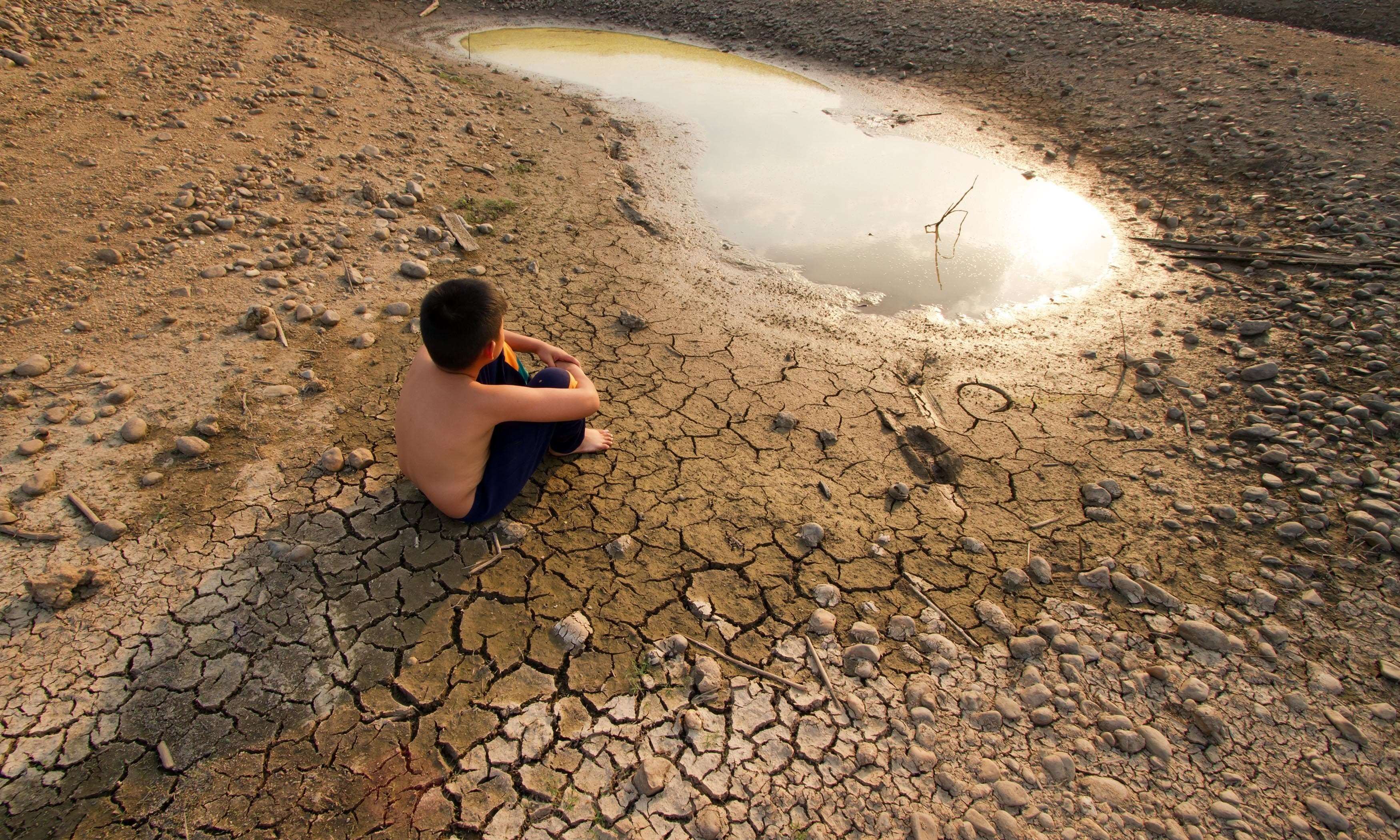Pakistan's fast-changing weather trend is setting records but not for good reasons — February 2021 was found to be the third driest month over the past 60 years. — Shutterstock/File
