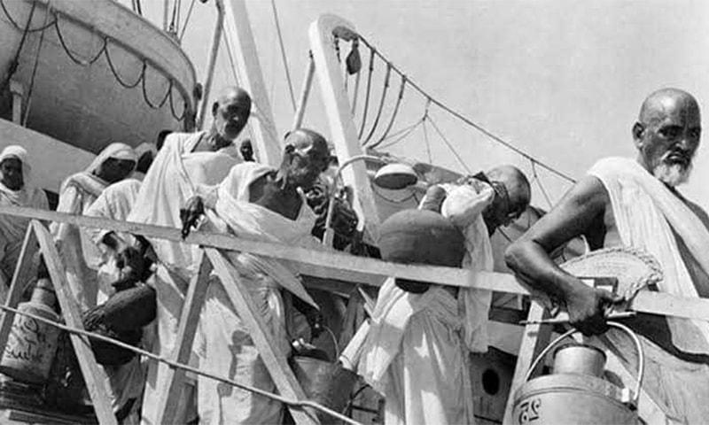 بحری جہاز کے مسافر حجاج
