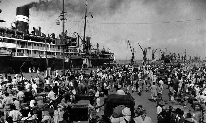 کراچی کی بندرگاہ