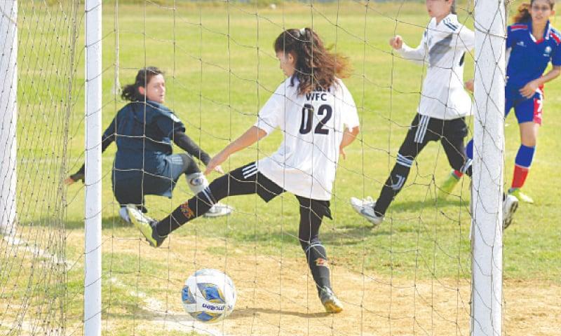 Lop-sided victories as national women's football kicks off - Newspaper -  DAWN.COM