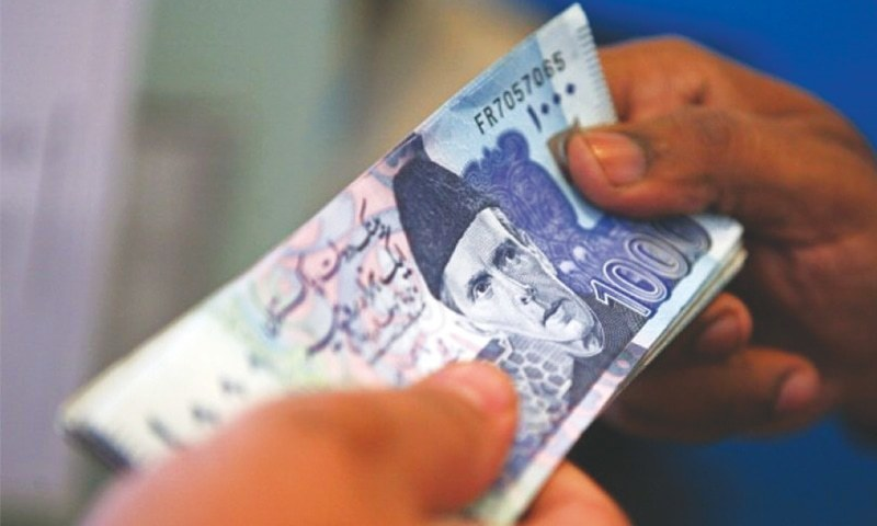 The country's top tax machinery has detected Rs60.308 billion foreign untaxed income disbursements to 75,615 individuals through digital transaction. — AFP/File