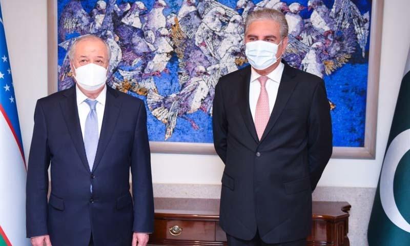 ازبکستان کے لیے بندرگاہوں تک رسائی میں آسانی پیدا کرنے کی یقین دہانی کرائی گئی۔ ---فوٹو: دفتر خارجہ ٹوئٹر اکاؤنٹ