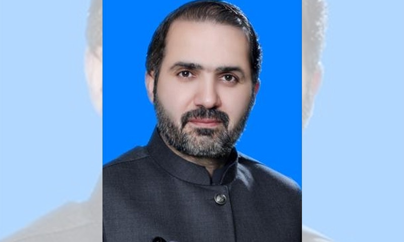 سینیٹر مرزا محمد خان آفریدی کا تعلق سابق فاٹا سےہے—تصویر: سینیٹ ویب سائٹ