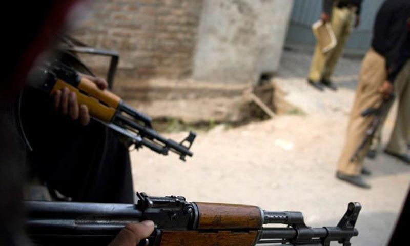 پولیس انسپکٹر کو گزشتہ ہفتے قتل کردیا گیا تھا—